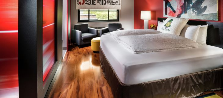 Hotel FIVE: Hip, Funky, Happening in Seattle