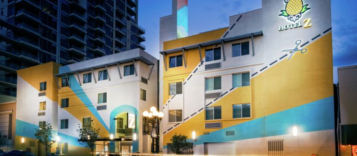 Top 12 cool and unusual hotels in San Diego: Hotel Z