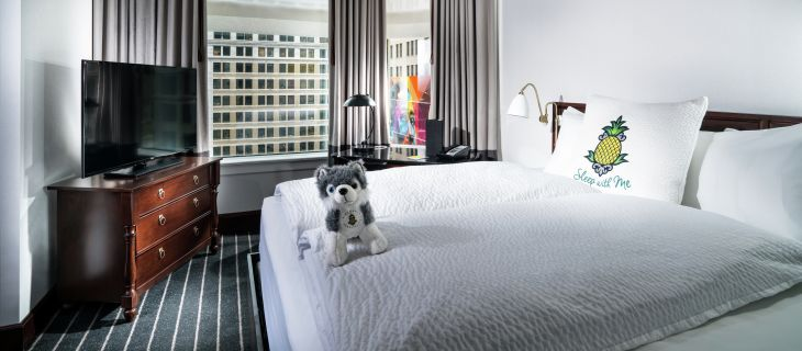 Best bed: Staypineapple Chicago