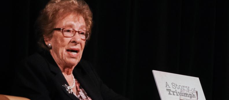 Staypineapple Sponsors A Historic Evening with Eva Schloss, Stepsister of Anne Frank at the University of Washington