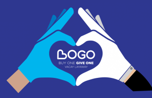 Buy One, Give One Campaign Logo