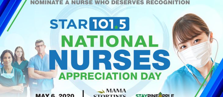 NATIONAL NURSES APPRECIATION DAY MAY 6, 2020